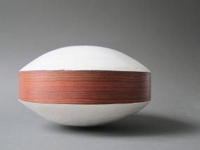 Porcelaine et bois de palissandre d'Indes